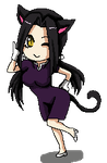 Shandi chibi pixel  Commission by DannyC8