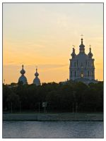 Smolny Cathedral by maska13