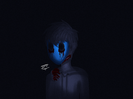 Creepypasta Fan art - Eyeless Jack by JackFrostOverland