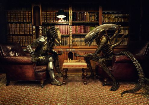 Alien Vs Predator: Chess by Xidon