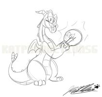 Figment Sketchydoodle by katproductions6