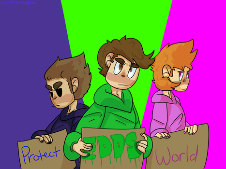 Protect Eddsworld! by AutumnsApples