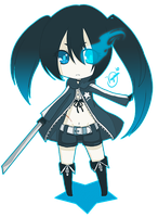 Black Rock Shooter. by Veyuna