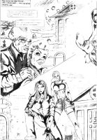 Page from Witchblade 2 by montalvo-mike