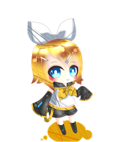 Kagamine Rin. by MilkyWay-Galaxy