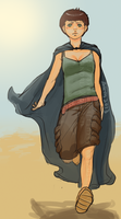 Maya and Amriel's daughter by AxMongrel