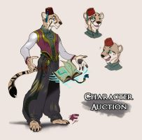 Character Design AUCTION [CLOSED] by TeaDino