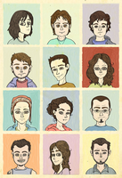 Retratos by Scout-Finch