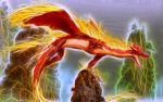 Red-Fire-Dragon-Glow by KarmeticPeace