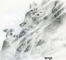 Tigress in a Blizzard by Nerual-56
