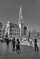 Grand Place - Brussels by ThomasHabets