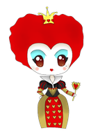 Chibi Red Queen by Mizdreavus