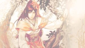 Lady Oichi PSP Wallpaper by QiaoFather