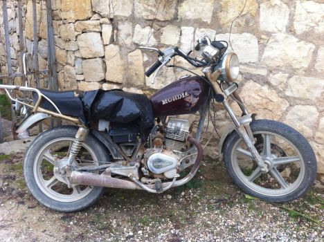 old bike by lul39