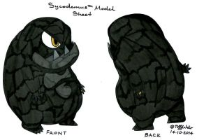 Sycodemus Model Sheet *Update and FINAL* by trinityweiss