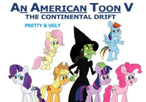 An American Toon V Poster - Pretty and Ugly by HunterxColleen