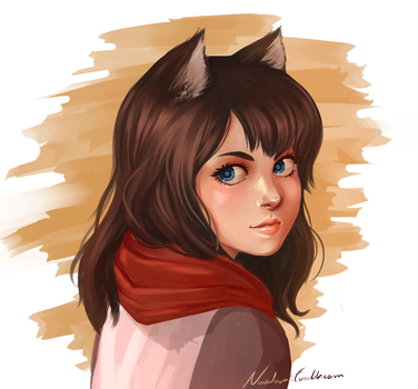 Katherine [Gift Art] by askmaya