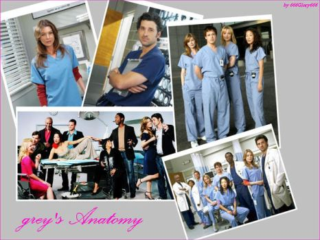 Grey's Anatomy by 666Glory666