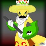 Mexican Renamon. by SuddenWolf