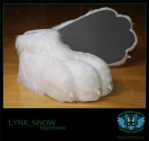 Lynx Feetpaws by Wolfbird