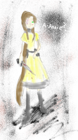 The Yellow Dress by Electrispaz