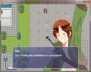 [APHXRPG] Hetalia Fantasia - Screenshot Preview 1 by YahikoxKonan4ever