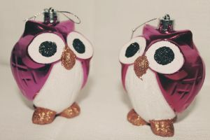Owl Ornaments by apparate