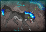 Sal in his feral form by StanHoneyThief