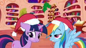 TwiDash Mistletoe by MintBronyCrunch