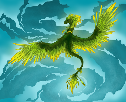 Guardian of the Skies by Abendsonne253