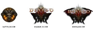 Diablo 3 icons by Godless-Figas