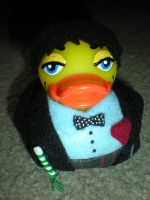 2nd Dr. Who Rubber Duck by Oriana-X-Myst