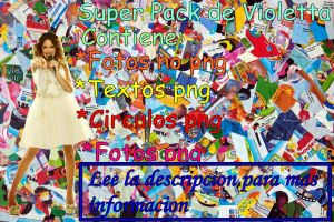 Super pack de Violetta by Belucapatop
