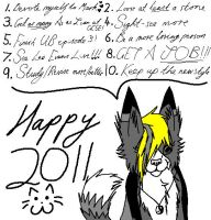 New Year 2011 by fluffylovey
