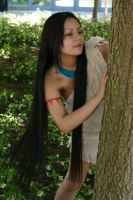 Disney's Pocahontas Cosplay by ShiniVasyenka