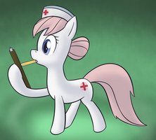 a nurse actually working by Lamiaaaa