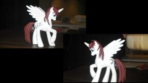 Custom Fausticorn Signed by Lauren Faust by Badhoagie91