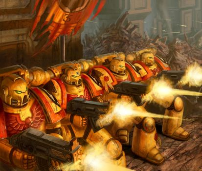 Imperial Fist Siege Force-Warhammer 40000:Conquest by jubjubjedi