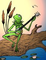 Kermit the Frog by felegund