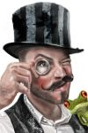 hatman and the frog by Martystar