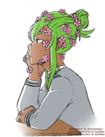 [BnHA OC] Overgrown by Amadere