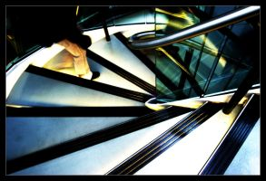 down the stairs by cei-