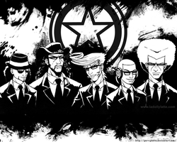 Elite Beat Agents Wallpaper 02 by Perrydotto