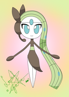 Meloetta Aria Form by LaahGata