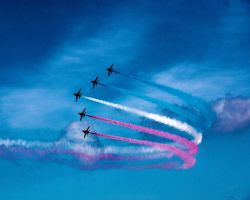 Red Arrows Southport VIII by irwingcommand