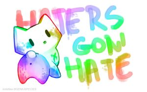 Haters-WALLPAPER by p-o-c-k-e-t