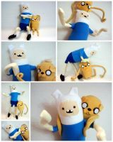 Bro Fist Finn and Jake by Jonisey