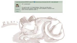 Question No. 31: Meoooow~ by Ask-JulchenB