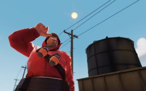 Team Fortress 2 Backgrounds - Soldier by AmberReaper