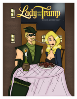 Commission - Green Arrow and Black Canary by Femmes-Fatales